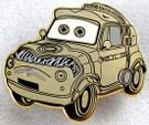 Star Wars Disney Pixar Cars C-3PO Luigi Metal Pin