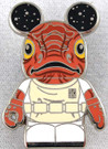 Star Wars Disney Vinylmation Series 3 Admiral Ackbar Pin w/Mickey Mouse Ears