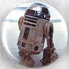 "Star Wars Classic R2-D2 (R2D2) Button 1.25"""