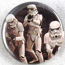 Star Wars Three Stormtroopers Button 1.25""