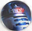 Star Wars R2-D2 (R2D2) Closefup Artwork Button 3""