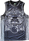 Star Wars Men's Darth Vader Galactic Empire Embroidered Jersey Size L