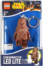 Star Wars Lego Chewbacca Figure Key Chain / LED Key Light 3""