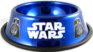 Star Wars Darth Vader Blue Stainless Steel 24 oz. Pet / Dog Bowl