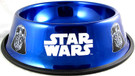 Star Wars Darth Vader Blue Stainless Steel 50 oz. Pet / Dog Bowl
