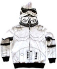 Star Wars Kids Stormtrooper Costume Hoodie Jacket Size XS (4/5)