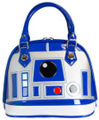 Star Wars R2-D2 (R2D2) Pattern Patent Dome Handbag / Purse