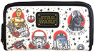 Star Wars Tattoo Artwork Print Faux Leather Womens Wallet