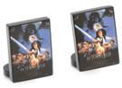 Star Wars Ep6 ROTJ Movie Poster Art Cufflinks in Box. Officially Licensed