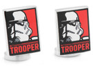 Star Wars Stormtrooper Pop Art Poster Cufflinks in Box. Officially Licensed