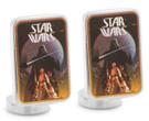 Star Wars Ep4 Vintage Darth Vader Poster Art Cufflinks in Box. Officially Licensed