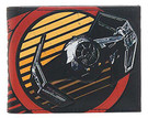 Star Wars Vader TIE Fighter Galactic Empire Bi Fold Wallet, Unused