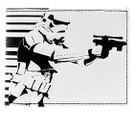 Star Wars Stormtrooper Galactic Empire Bi Fold Wallet, Unused