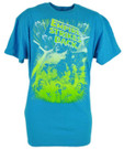 Star Wars Men's Empire Strikes Back Blue T-Shirt Size 2XL