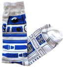 Star Wars R2-D2 Full Pattern Men's Crew Socks Shoe Size 6-12