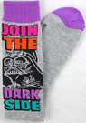 Star Wars Darth Vader Join Darkside Junior/Women's Socks Shoe Size 4-10