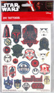 Star Wars 24 Count Tattoos Pack Classic Fett Vader Yoda #2
