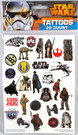 Star Wars 28 Count Tattoos Pack Classic Fett Vader Yoda Wicket