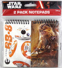 Star Wars BB-8 and Chewbacca 2 Pack Notepads