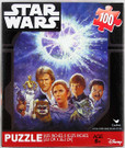 Star Wars ROTJ Death Star Explosion Art Scene 100pc Puzzle
