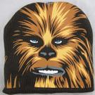 Star Wars Chewbacca Face Black Boys/Adult Beanie