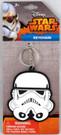 Star Wars Stormtrooper Rubber Head Key Chain
