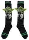 Star Wars Yoda with Ears Junior/Women's Knee High Socks Shoe Size 4-10