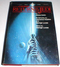 1983 Star Wars ROTJ novel hardcover novel, shows some wear