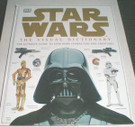 Star Wars Visual Dictionary Hardcover book, binding tear