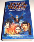 Star Wars Heir to the Empire softcover novel