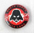 Star Wars Darth Vader Sith Lord Button