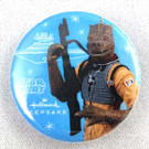 2011 Star Wars SD Comic Con Hallmark Bossk Button