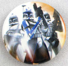 Star Wars Clone Wars Clone Troopers Button