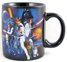 Star Wars Classic Art 12 oz. Ceramic Mug w/Box.