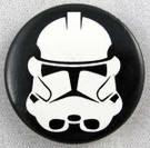 "Star Wars Clone Trooper Button 1.25"""