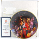 Star Wars Plate in box with COA