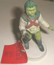 1983 Star Wars Klaatu Porcelain Figurine with tag loose
