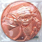 Star Wars California Lottery Exclusive Yoda Metal Coin