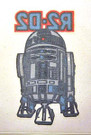 1980 Star Wars Australia ESB R2-D2 Larger Iron On
