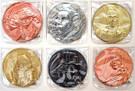 Star Wars California Lottery Exclusive Set of 6 Metal Coins