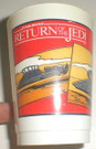 1983 Star Wars The Vehicles mail in cup, cup has some scuffing