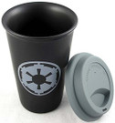 Star Wars Imperial Logo 12 oz. Double Wall Ceramic Travel Mug / Cup