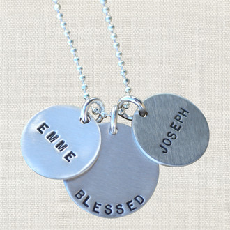 Blessed Custom Name Necklace