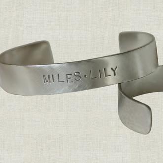 Men's Flat Cuff Bracelet