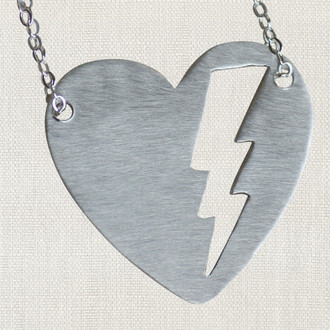 MaxLove Fierce Heart Necklace