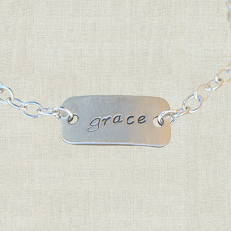 Custom Tag Bracelet