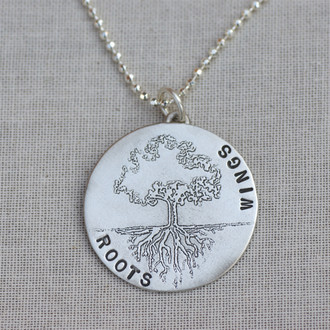 Roots and Wings Necklace