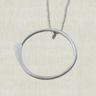 Zen Circle Necklace