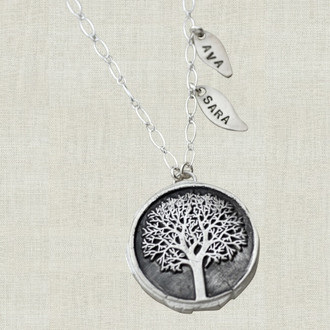 Mighty Oak Family Necklace