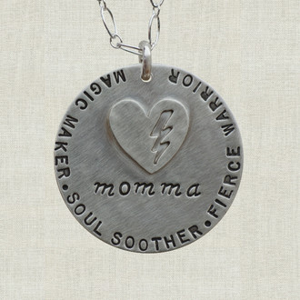 MaxLove Super Momma Necklace